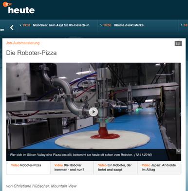 Bericht für ZDF heute.de