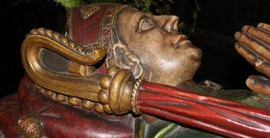 Bishop Vesey's tomb