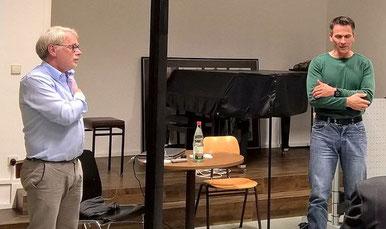 Hans Müller und Hans Jürgen Herber © rheinmainphoto
