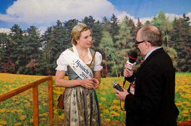 Sarah Knaust Hessische Milchkönigin © europics.de / Friedhelm Herr