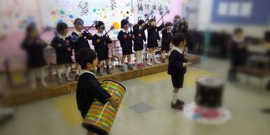 どれみ音楽教室 リトミック 幼稚園 発表会