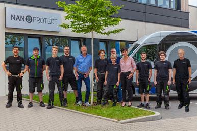 Nanoprotect GmbH -Die Chemie stimmt! - Team Nanoprotect aus Düsseldorf