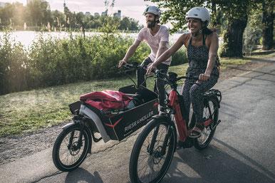 Lastenradförderung in der e-motion e-Bike Welt Düsseldorf