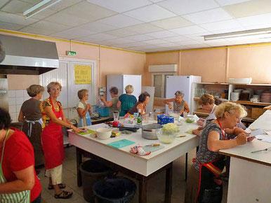atelier cuisine du 18 septembre 2014