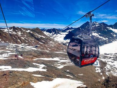 Gondel auf 3440m