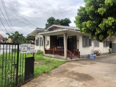 Le bureau du CCL à Vientiane