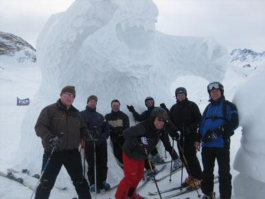 endlich skifahren...