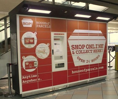 Hong Kong's HOP! parcel locker system  -  company courtesy