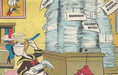 """Quelle: Walt Disney's Lustige Taschenbücher, Band 1 """"Der Kolumbusfalter"""""""