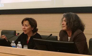 Titti Carrano (DIRE-Donne in rete) e Virginia Giglio (ADBI). Foto di A. Paionni