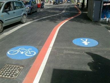 ウィーンの自転車ゾーン