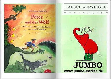 Musikalische Bilderbücher für kleine Klassikfreunde - Jumbo, Betz, Simsa
