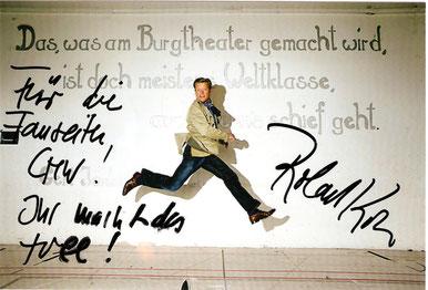 Grüße von Roland Koch vom 22.03.2010 / FFM