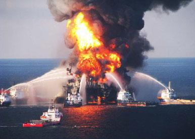 Deepwater Horizon Unglück  & Explosion