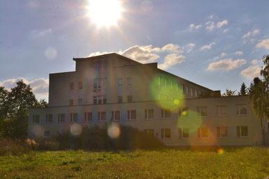 Flüchtlingsunterkunft im AMEOS Klinikum Bernburg
