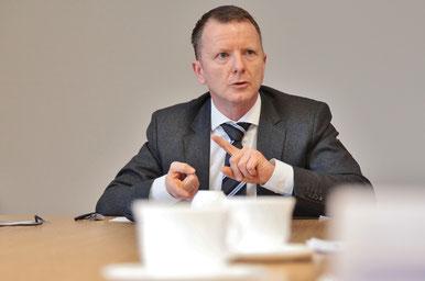 Kriminaloberrat Steffen Kuse, Leiter Kriminaldienst Salzlandrevier