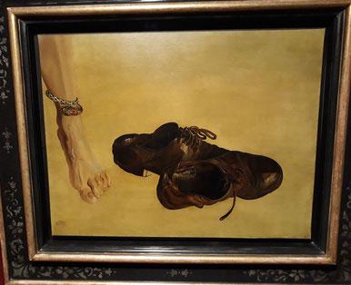 Картины Сальвадора Дали. Первородный грех (1941)