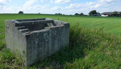 Ehemaliger Feldbrunnen bei Lotzdorf. Foto: Schönfuß