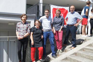 Gähwiler, Stadelmann, Roth, Lorenz, Troxler