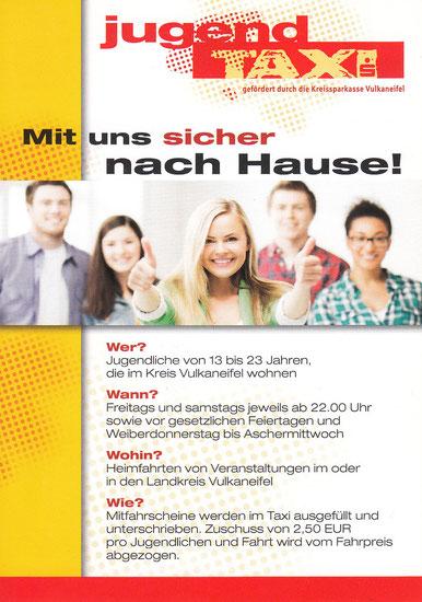 Infoseite ab 01.05.2014 - Jugend-Taxi Rollmann, 54578 Nohn