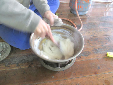 米糊を作る