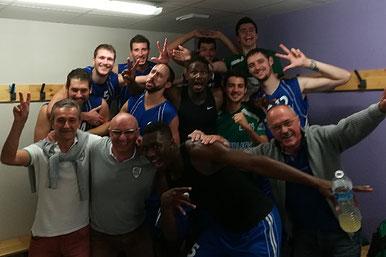 Avec une 3e victoire en 3 matchs, l'ESMS est 1er de la poule en compagnie d'HDC !