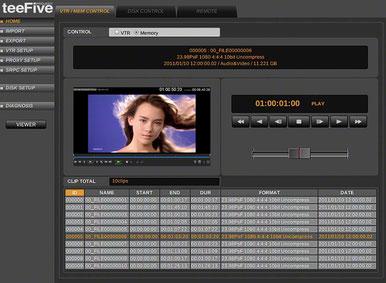 テープ変換 XDCAM Grass Valley HQX ProRes 422 プリント  XDCAM プロフェッショナルディスク ディスク