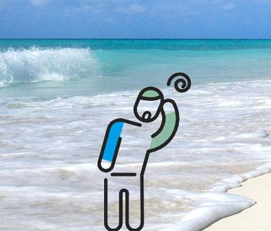 ¿Malestar tras entrar al agua? Posible hidrocución. AprendEmergencias