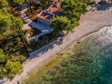 Дом на пляже на Браче