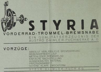 Quelle: Österr. Nähmaschinen- u. Fahrrad-Zeitung, 25. Mai 1936