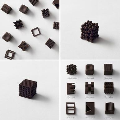 Chocolate Texture by Nendo 2015