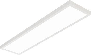 Bild: Aufbau LED Paneel rund 40W, 1200x300mm