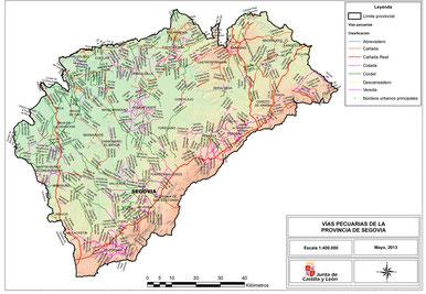 Las Cañadas Reales por Segovia