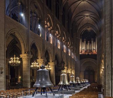9 Nouvelles cloches de Notre-Dame de Paris