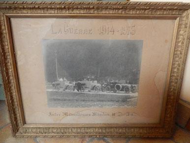 automitrailleuses  blindées  division de cavalerie 14-18