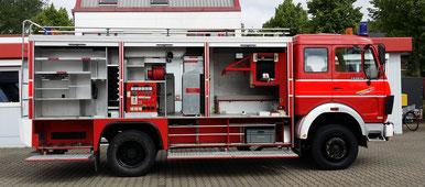 Samson bei Kauf noch mit Feuerwehrausstattung