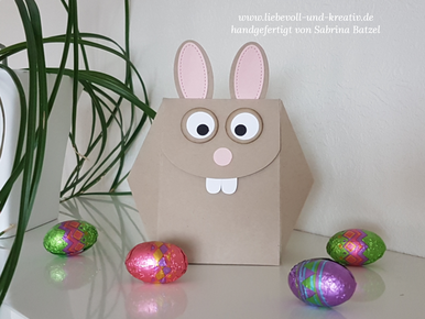 Stampin'Up! Osterhasen-Box, Verpackung, Ostern, Osterhase