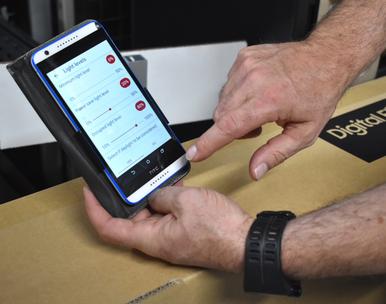 Sturing van de kunstverlichting m.b.v. een smartphone