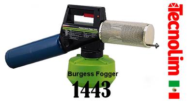 Burgess 1443 Termo fogger Professional nebulizador fumigador eléctrico propano térmico atomizador