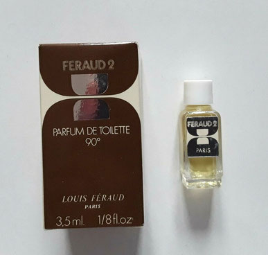 LOUIS FERAUD - FERAUD2 : MINIATURE PARFUM DE TOILETTE 3,5 ML