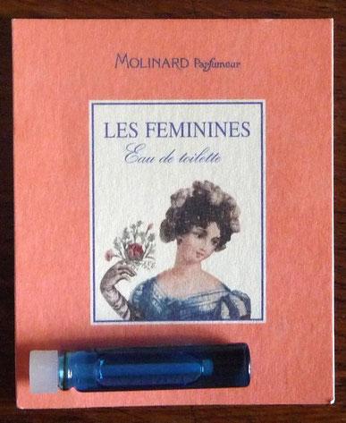MOLINARD - LES FEMININES EAU DE TOILETTE : ECHANTILLON-TUBE