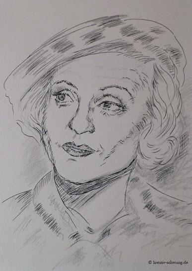 Schnellskizze der Dietrich