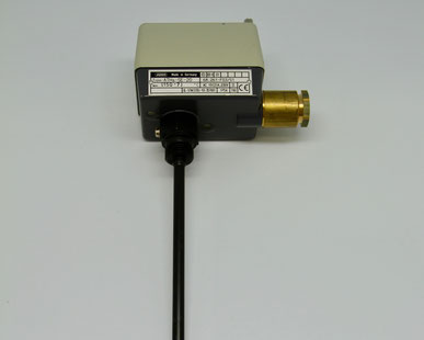 JUMO surface-mounted thermostat, Type: ATHs-SE-20