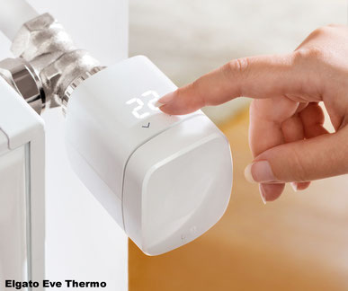 Elgator Eve Thermo, Apple HomeKit, Heizungssteuerung