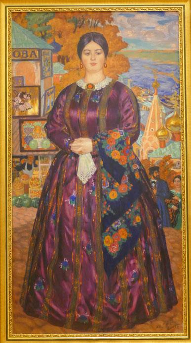 Boris Kustodiev (1878-1927) : femme de commerçant