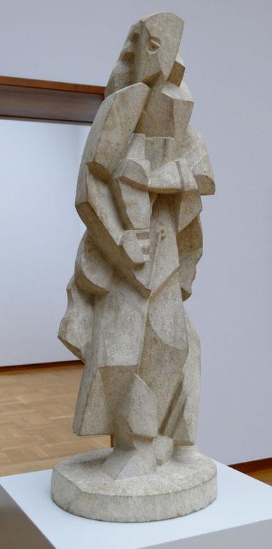 Jacques Lipchitz : femme debout, 1918-19