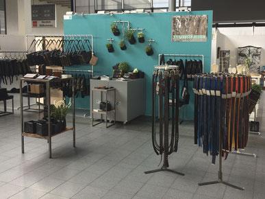 Messestand des Berliner Unternehmens Stef Fauser Design bei der Karlsruher Messe LOFT 2018