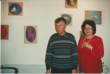 Umberto Bergamaschi et Jeanine Rivais