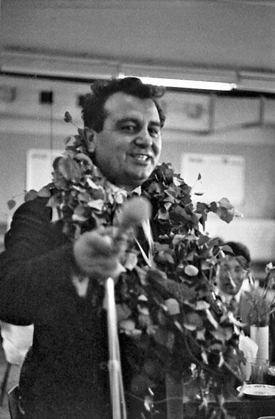 Исмаил Шахбазович Алиев 1973 г. Фото из личного архива Л. Мишутушкиной