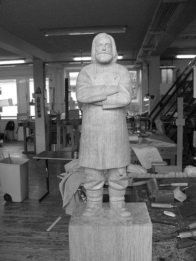 Skulptur Ove Bildhauerei Hans Jannsen 2014